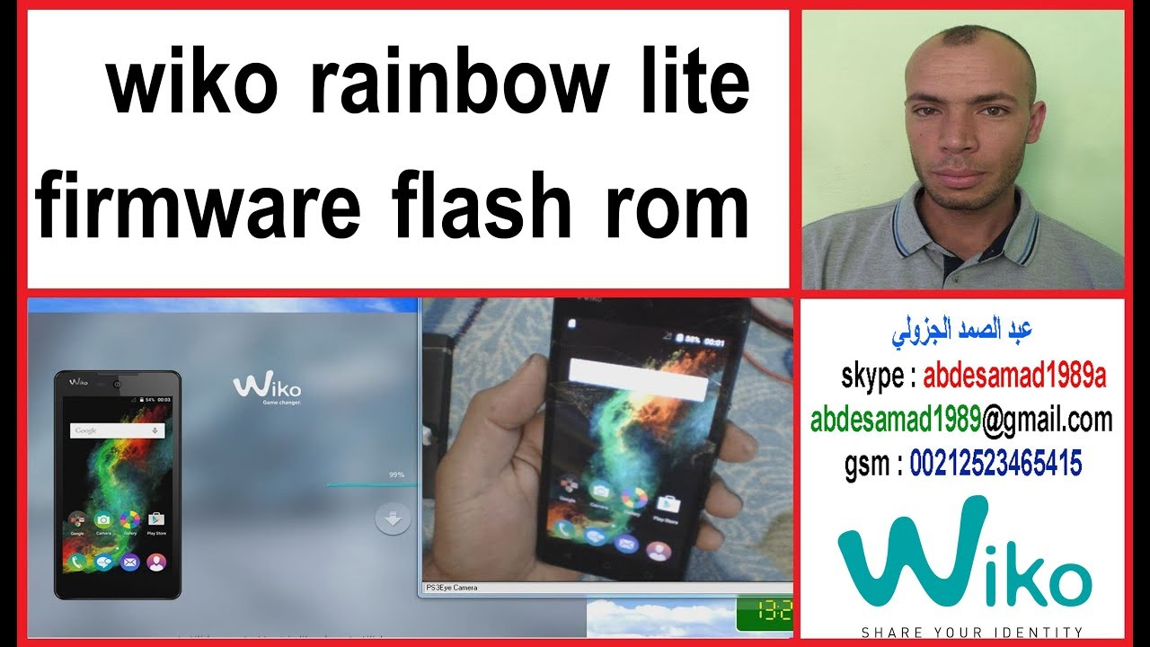 Wiko rainbow lite s5222 android firmware rom - updated July 2019