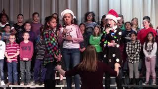 George Elementary | Honor Choir and Ukulele Christmas 2018