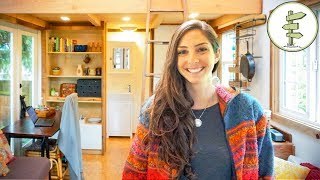 Woman Builds Unique Tiny House for Affordable City Living - Tour & Interview