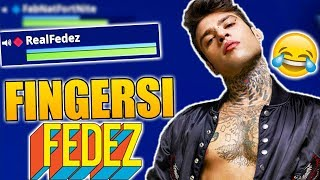FINGERSI FEDEZ SU FORTNITE! - Funny Moments ITA