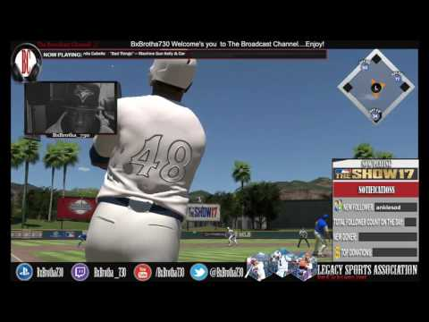 MLB The Show 17: Chris Carter with the Moon Shot in BR