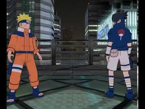 Naruto Gekitou Ninja Taisen 4 -Midnight Rooftop Custom Stage-