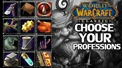 WoW Classic Profession Picking Guide Part 1
