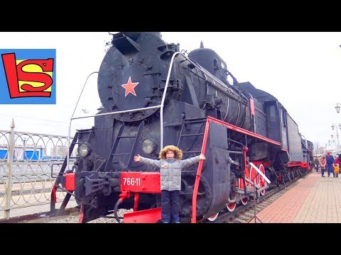 Паровозы и Поезда Музей железнодорожного транспорта в Москве