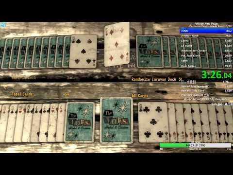 WR] Fallout: New Vegas Caravan Master World Tour speedrun in