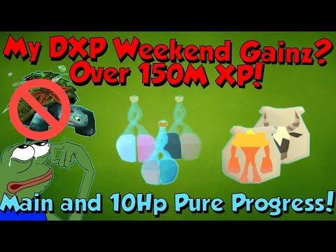 My Double XP Weekend Gains! [Runescape 3] Maikeru & urekiaM