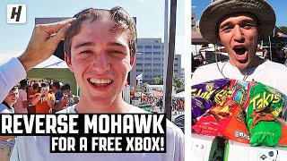 HE SHAVED HIS HEAD FOR A FREE XBOX!!!
