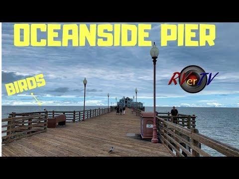 Oceanside California Pier - Pacific Ocean