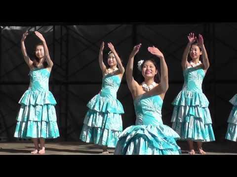 女子大生のフラダンス 2015年11月 (その10) Hula November, 2015 of the female college student (10)