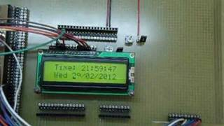 Repeat youtube video DS1307 Real Time Clock Programmer