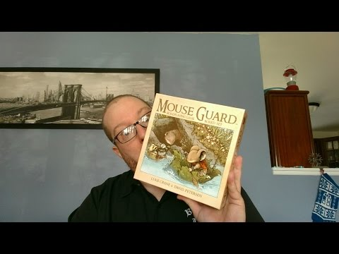 Mouse Guard Roleplaying Boxed Set Second Edition Review