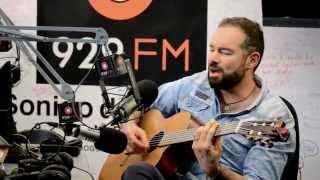 Santiago Cruz - No Nos Digamos Mentiras (Acustico) para 92.9 FM