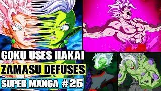 Dragon Ball Super Manga Chapter 25 - Goku Uses Hakai On Merged Zamasu! Merged Zamasu Defuses?!