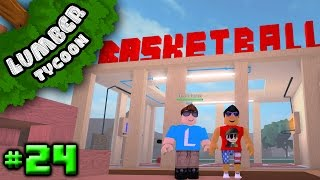 Lumber Tycoon Ep. 24: LOCUS' AWESOME BASE!!! | Roblox
