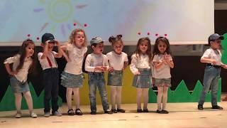 MİÇO şarkısı ve öykü sahnede  okul gösterisi  komik çocuk oyun videoları