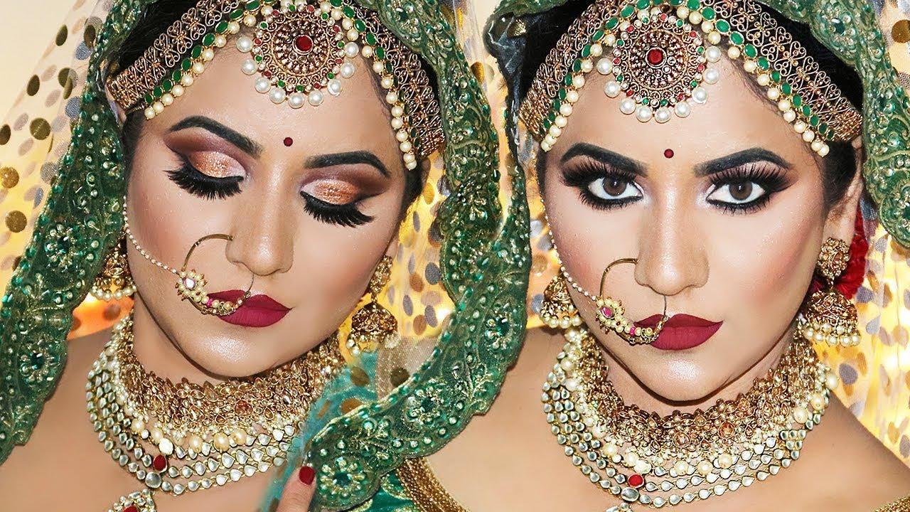 royal indian bridal makeup by smithadbeauty
