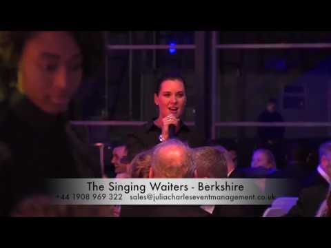 The Singing Waiters – Bespoke Productions - Berkshire