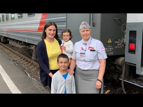 Поезд 042 Москва-Воркута ТКС Самая добрая проводница. Часть 1