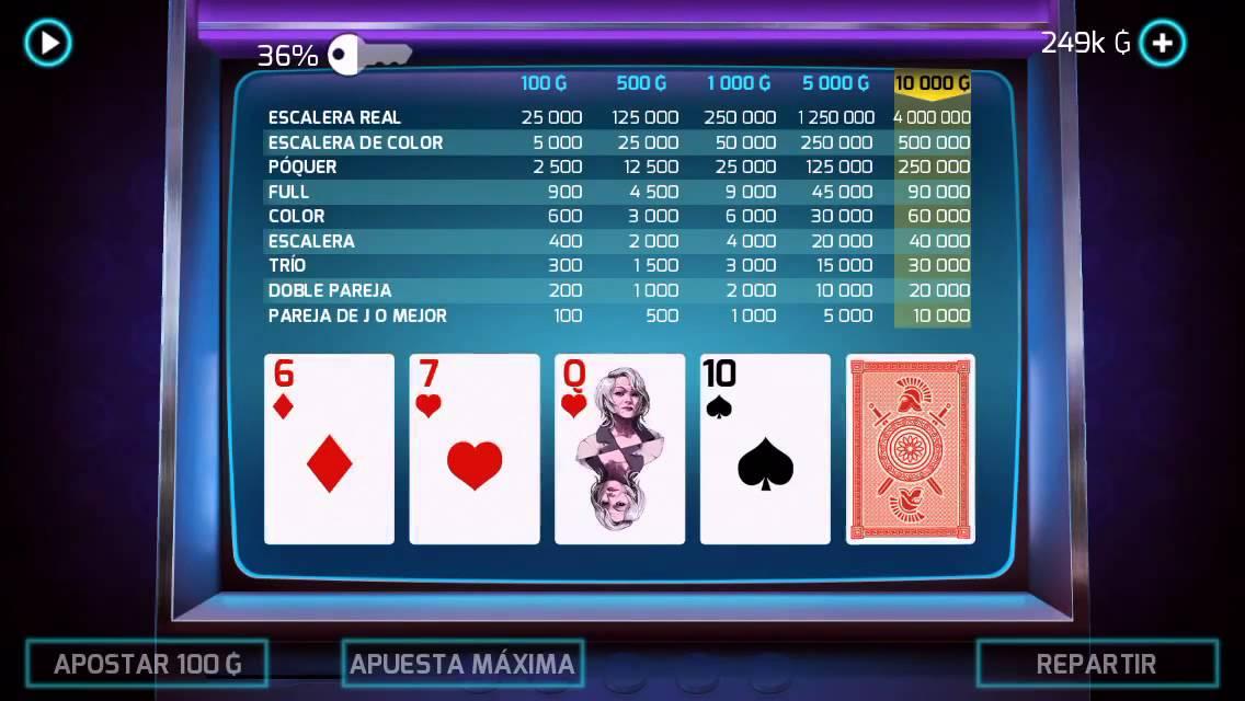 Gangstar vegas video poker royal flush poker estrategias