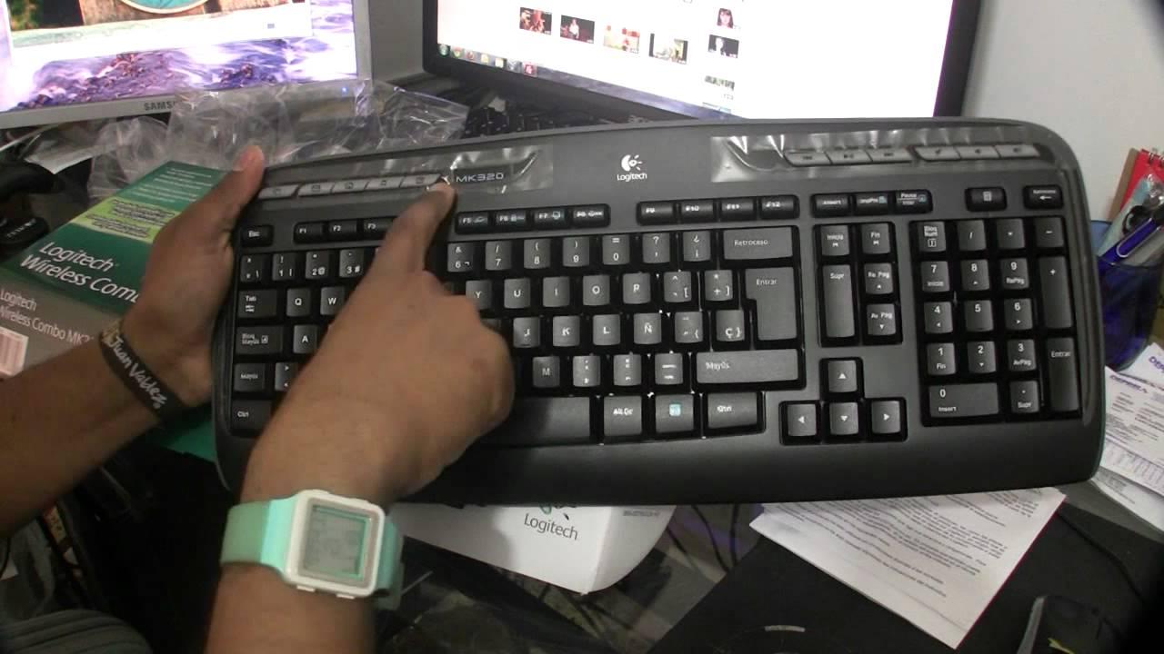 Combo Mouse y Teclado Logitech MK 320