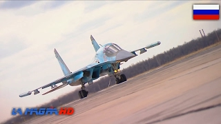 Russian Su-34 4++ Strike Fighter - SYRIA WAR [1080p]