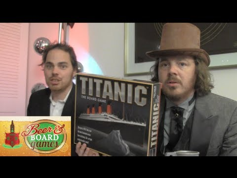Drunk Titanic (Beer and Board Games)