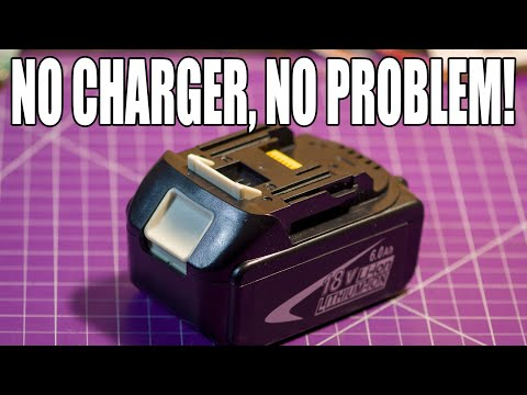 "Charging A Drill Battery Without An ""Official"" Charger"