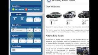 Book Airport Transfer Online - Leo Taxis