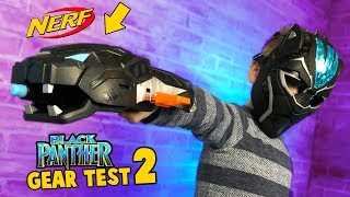 Black Panther Movie Gear Test and Toys Review #2 by KIDCITY