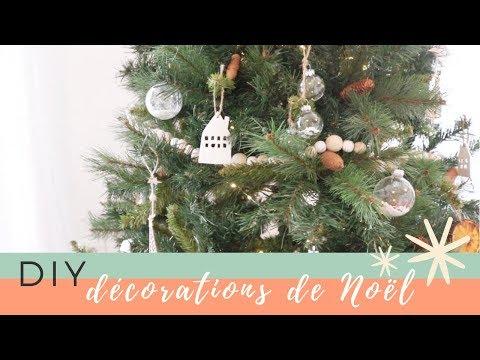 Peindre votre propre décoration de Noël trois Designs Cadeau Idéal