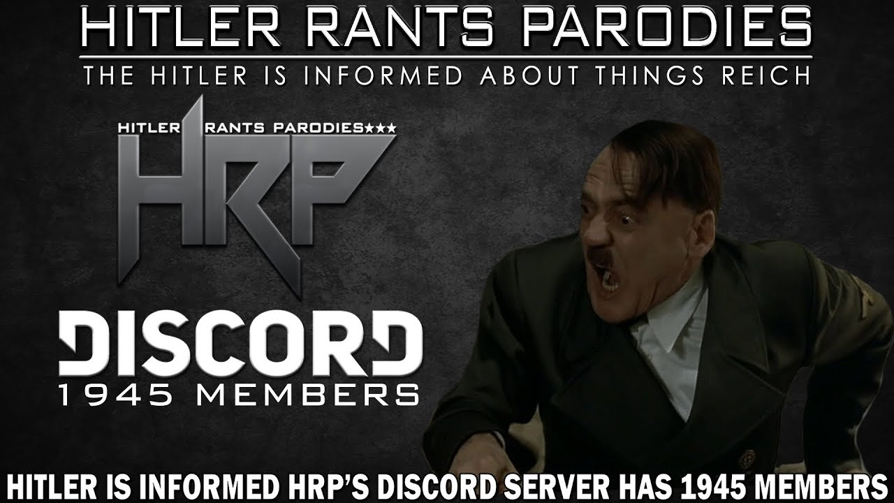 Hitler is informed HRP's Discord server has 1945 members