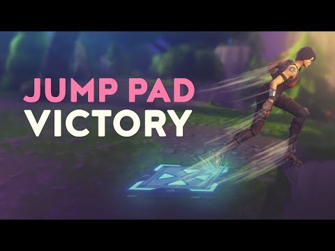 JUMP PAD VICTORY (Fortnite Battle Royale)