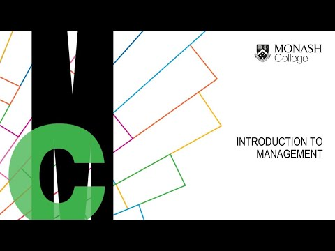 Monash College Diploma - Virtual Classroom Taster Session - Introduction To Management