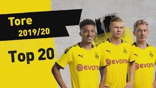 Haaland, Sancho & More!   Top 20 Goals Of The Season 2019/20