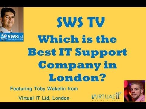 Best IT Support Company in London Virtual IT  02076442818