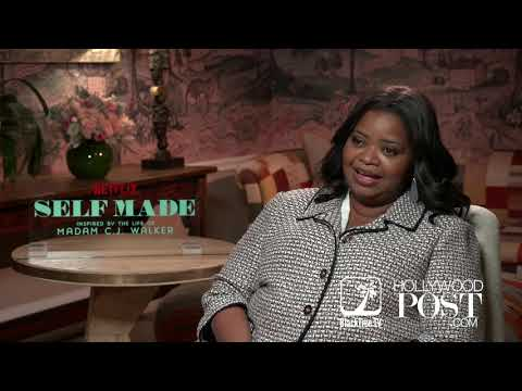 Octavia Spencer on working with Lebron and making 'Self Made: The Madam CJ Walker story' on Netflix