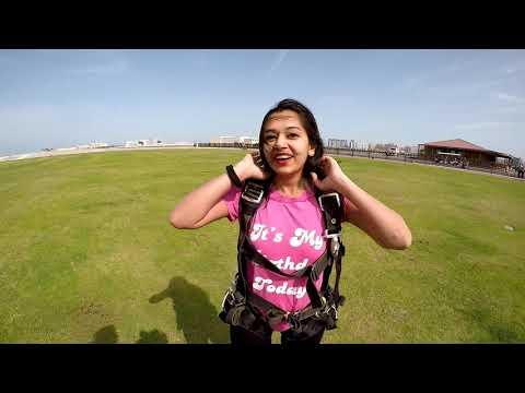 Neha Skydive Dubai - 2015