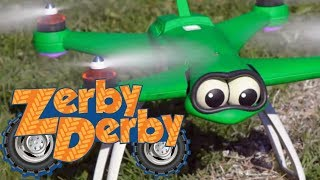 Zerby Derby |🌠| WHOLE LOTTA DOTTY |🌠| Best of Dotty the Drone | Clip Compilation | Kids Cars
