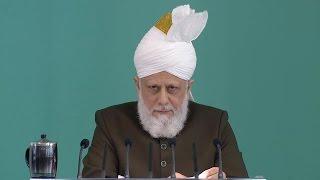Freitagsansprache 23.09.2016 - Islam Ahmadiyya