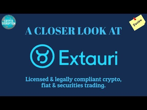 Extauri Exchange - Legal and Compliant for Crypto, Fiat, and Securities