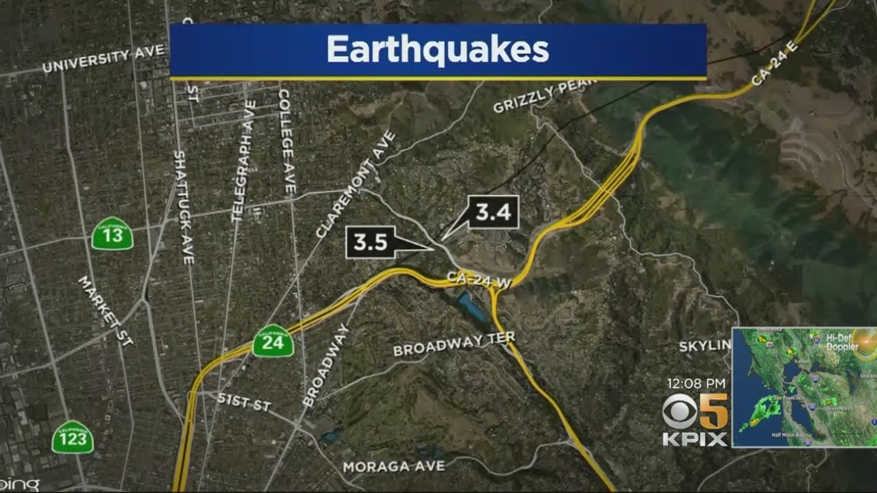 Second earthquake in two days wakes up Bay Area