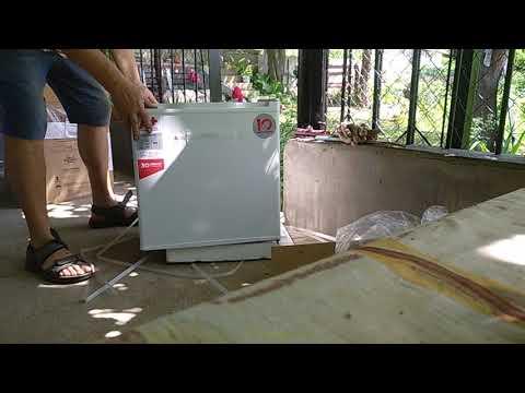 Распаковка китайського мини холодильника Ergo Mr- 50