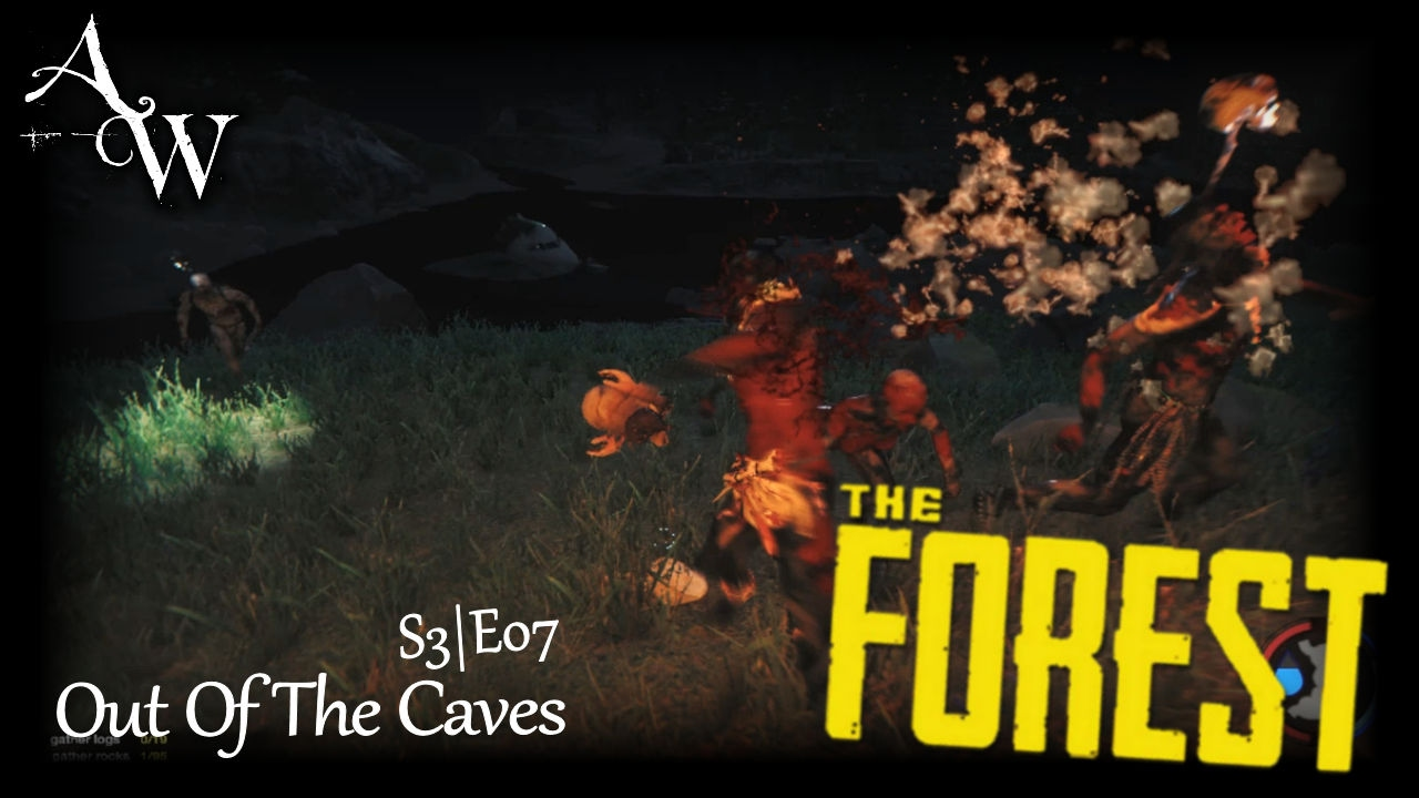 how to get out of a cave in the forest