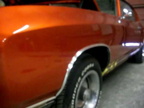Kandy Paint Candy 71 Chevy Monte Carlo Tangerine Over Orion Silver Pt 3 You