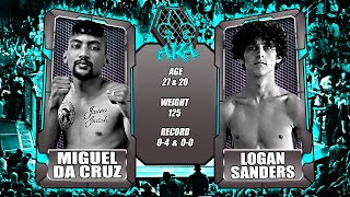 AKA ROP12 Fight 2 Logan Sanders vs Miguel Da Cruz