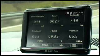 2012 Volkswagen move up! - test na zuzycie paliwa