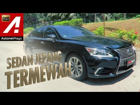 Review Lexus LS 460L & test drive by AutonetMagz