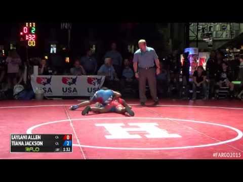 117 7th Place - Tiana Jackson (California) vs. Laylani Allen (California)