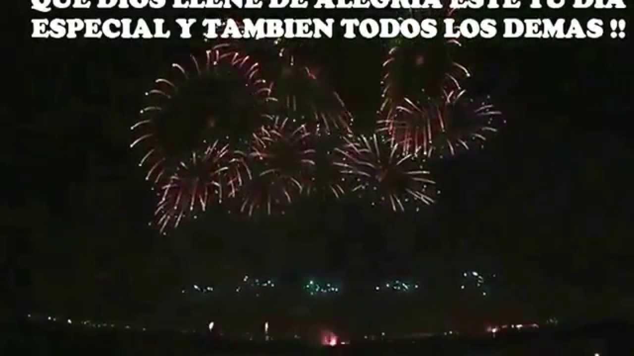 Feliz Cumpleanos Con Mariachi Y Fuegos Pirotecnicos Youtube