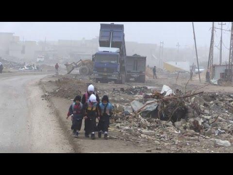 السلطات العراقية تواجه تحديات اعادة البنى التحتية في الفلوجة